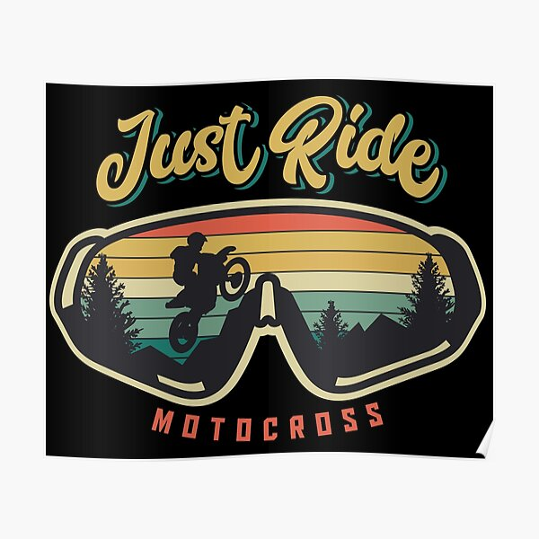 Just Ride Poster