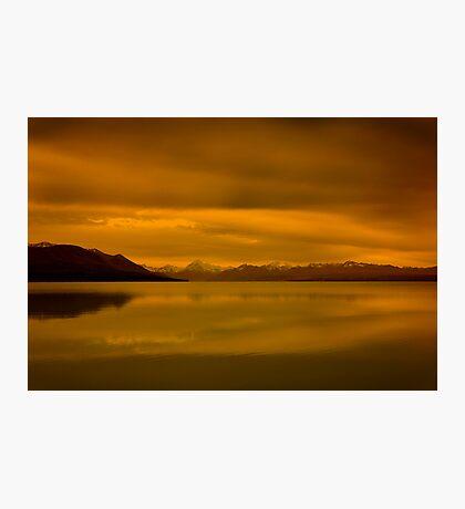 New Zealand Sunset Photographic Print