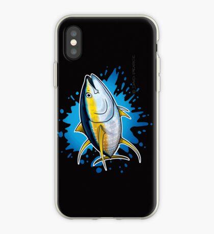 Yellowfin Tuna Splash iPhone Case