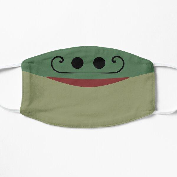 Smiling frog face mask Mask