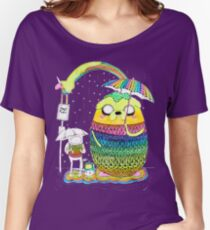 Adventure Time Rainbow Women's Relaxed Fit T-Shirt
