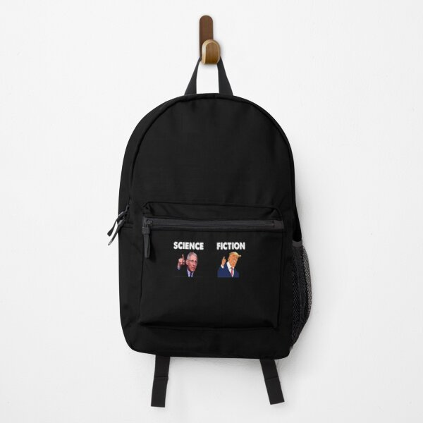 Fauci Science Trump Fiction Backpack