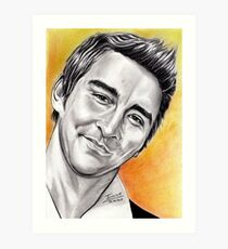 Lee Pace, so sweet Art Print