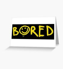 Sherlock - Bored! Greeting Card