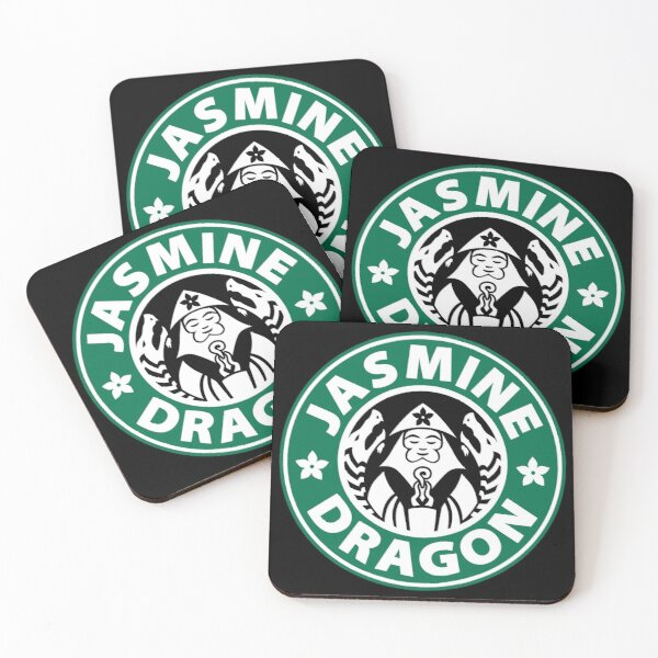 The Jasmine Dragon Coasters (Set of 4)