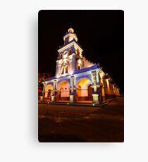 Iglesia de Turi, Ecuador Canvas Print