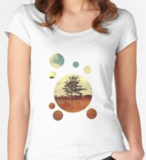 Trees Women's Fitted Scoop T-Shirt