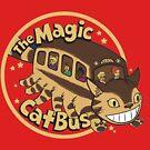 Totoro Magic Cat Bus von BearBon