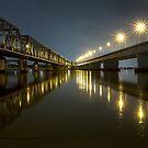 Tom Uglys Bridge by David Haworth