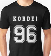 KORDEI - 96 // White Text Unisex T-Shirt