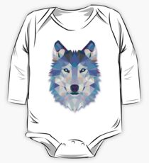 Wolf Animals Gift One Piece - Long Sleeve