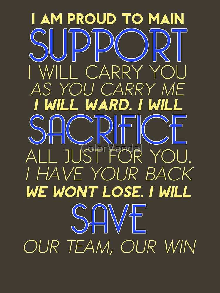 I Am Support | Unisex T-Shirt
