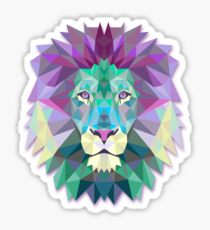 Lion Animals Gift Sticker