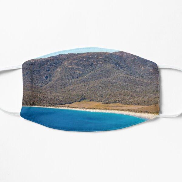 Wineglass Bay and beach Tasmania Flat Mask