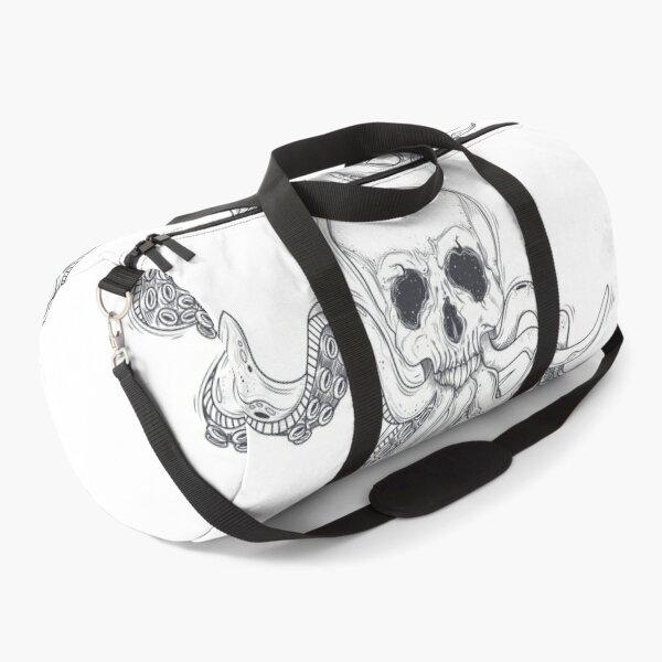 human skull tentacles Duffle Bag