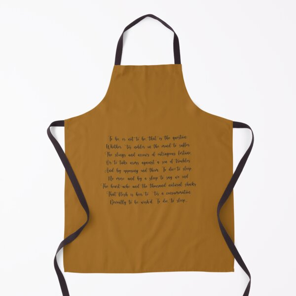 Labyrinth Worm Quote Not What They Seem Apron with Pockets