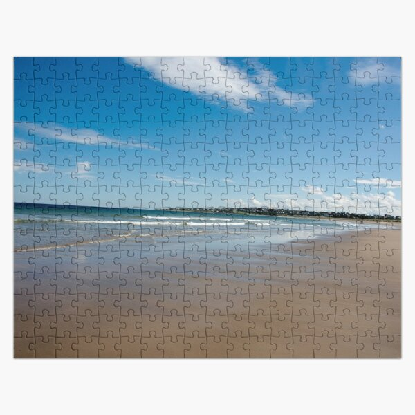 Expansive beach at Lossiemouth Jigsaw Puzzle