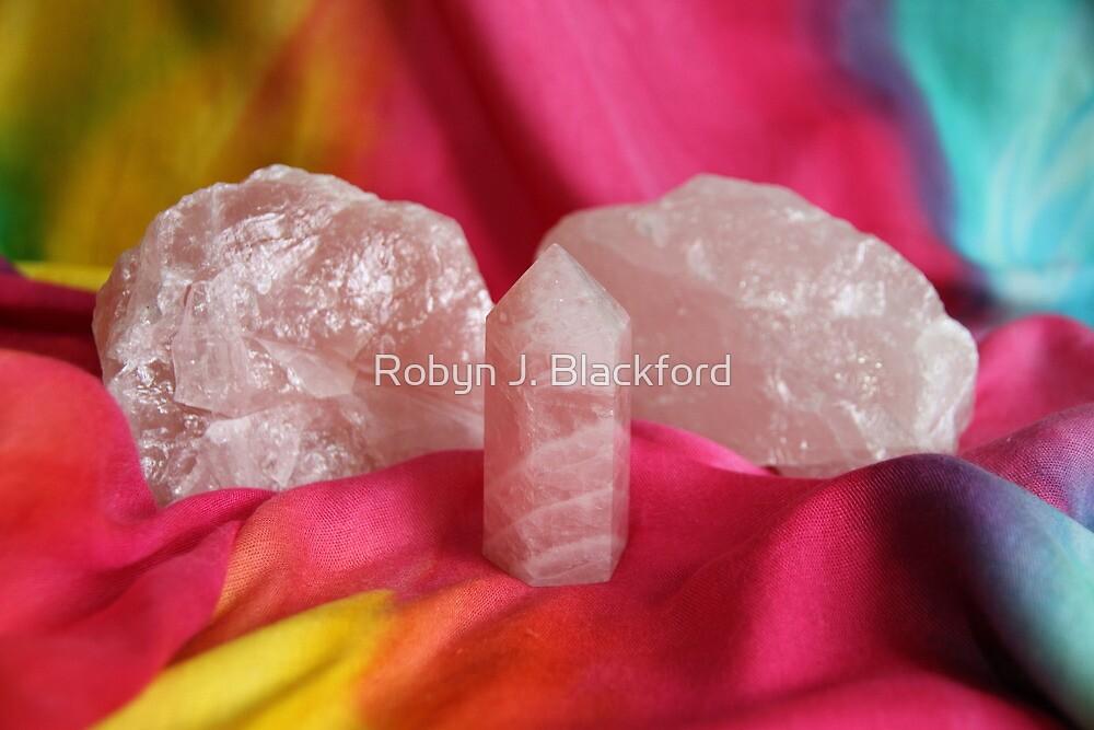 Crystals: Rose Quartz by aussiebushstick