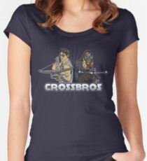 Crossbros Women's Fitted Scoop T-Shirt