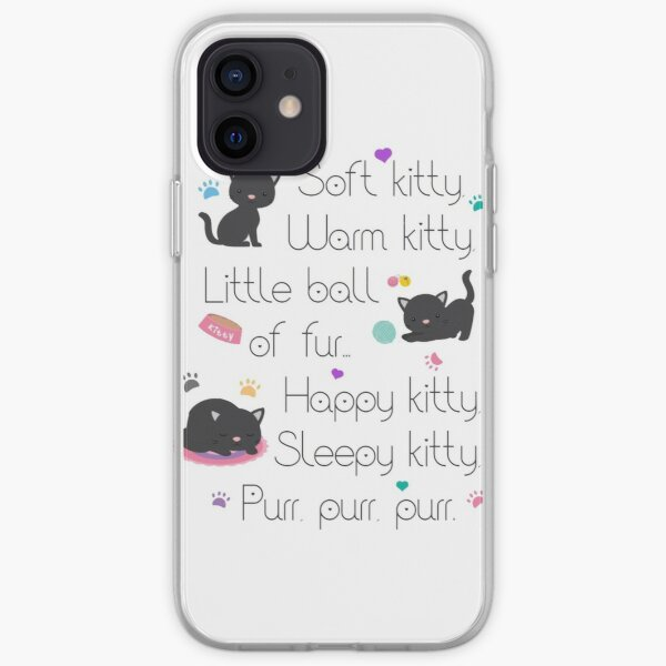 Soft Kitty Sheldon Cooper iPhone Soft Case