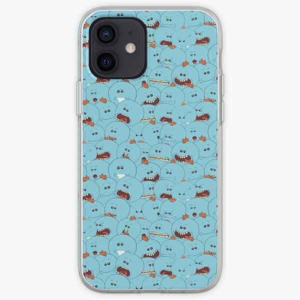1001 Mr Meeseeks - Rick and Morty iPhone Soft Case
