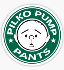 Pilko Pump Pants - Pilkington Sticker