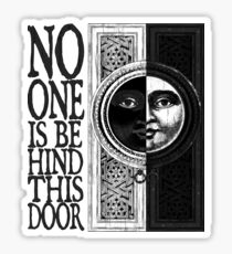 House of No One Sticker