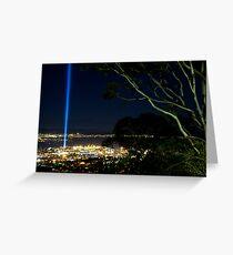 Spectra Tree - Hobart, Tasmania Greeting Card