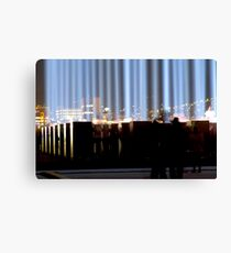 Spectra and the City - Hobart, Tasmania Canvas Print