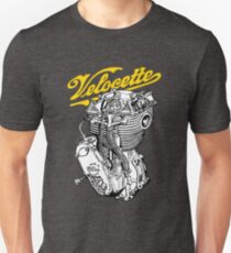 eb55b047a Classic British Motorcycle Engine - Velocette KTT350 Slim Fit T-Shirt