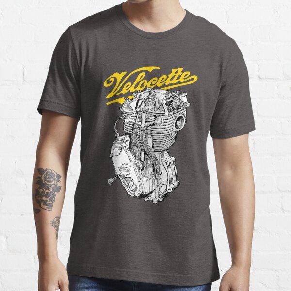 Classic British Motorcycle Engine - Velocette KTT350 Essential T-Shirt