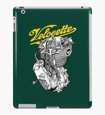 Classic British Motorcycle Engine - Velocette KTT350 iPad Case/Skin