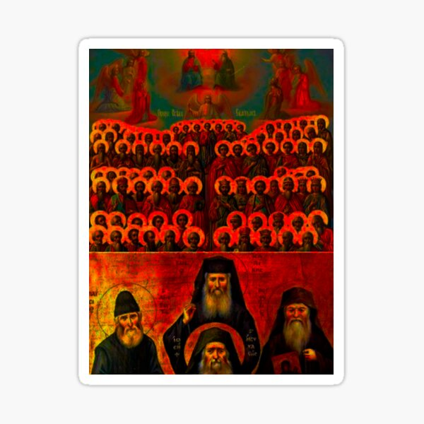 Orthodoxy Sticker