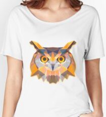 Owl Animals Gift Women's Relaxed Fit T-Shirt
