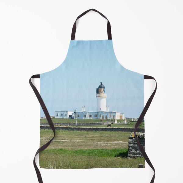 Lighthouse behind Bog Cotton Apron