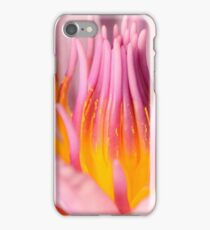 pink water lily iphone case iPhone Case/Skin