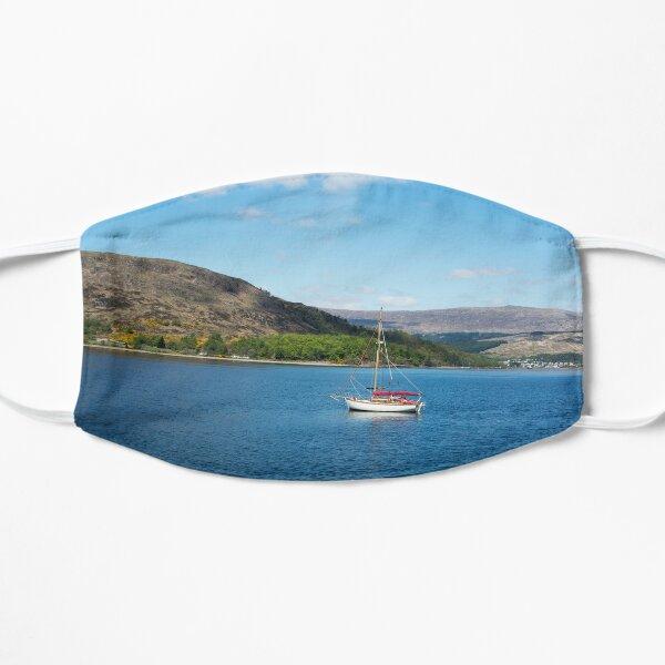 Boat on Loch Linnhe Flat Mask