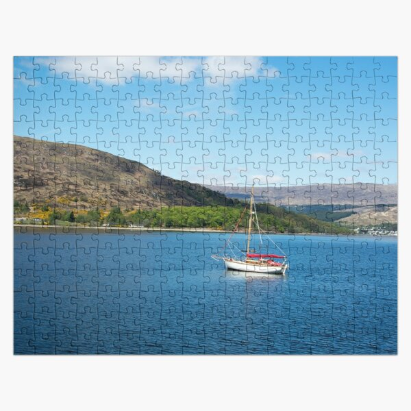 Boat on Loch Linnhe Jigsaw Puzzle