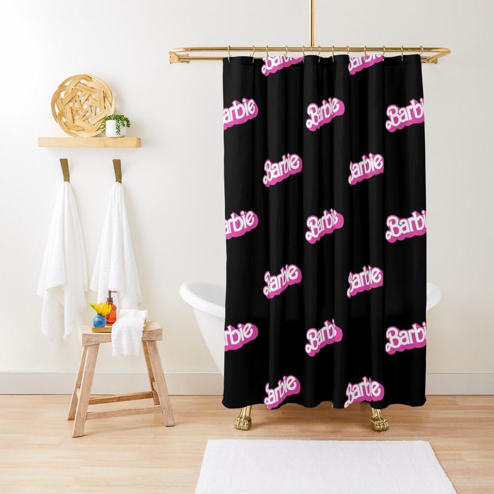 Barbie Shower Curtain