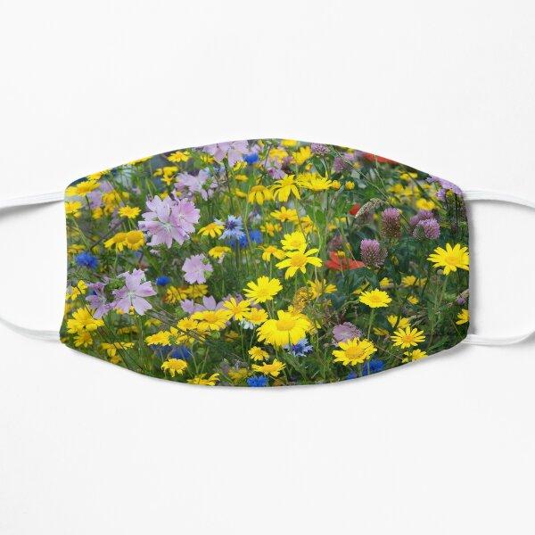 Closeup on Wildflowers Mask