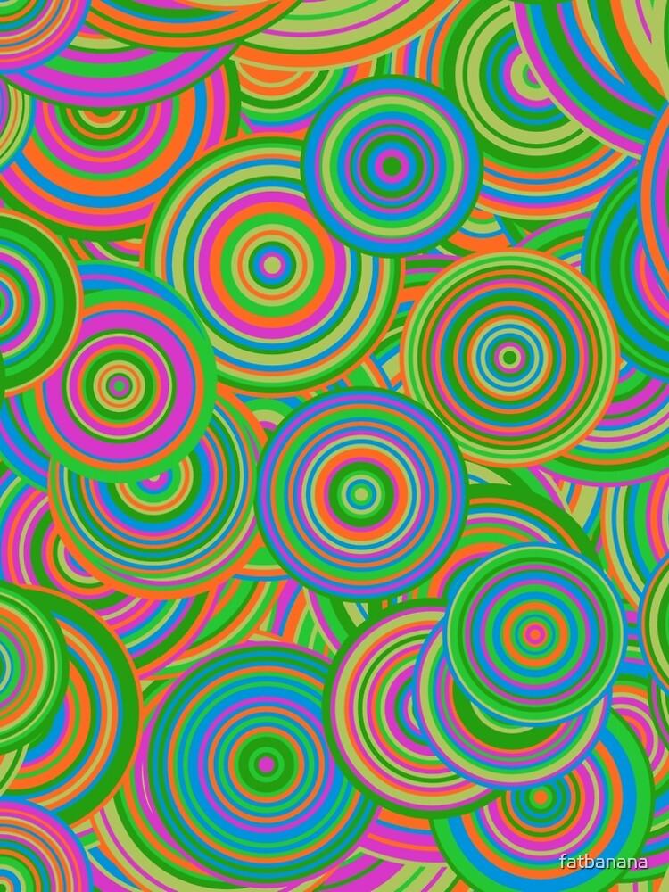 Psychedelic 60's Circles by fatbanana