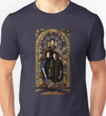 SUPERNATURAL gold medieval icon Unisex T-Shirt