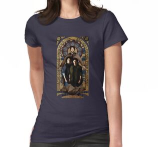 supernatural gold medieval icon t shirts hoodies by. Black Bedroom Furniture Sets. Home Design Ideas
