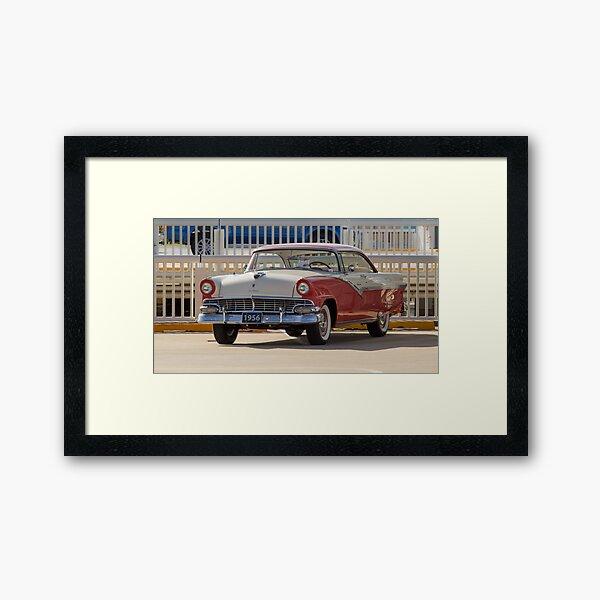 '56 Ford Fairlane Victoria Framed Art Print