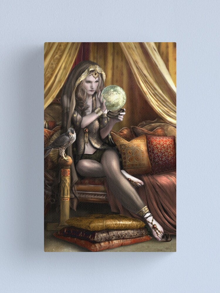 Alternate view of The Gypsy Seer Canvas Print