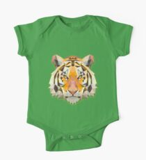 Tiger Animals Gift One Piece - Short Sleeve