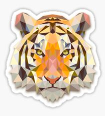 Tiger Animals Gift Sticker
