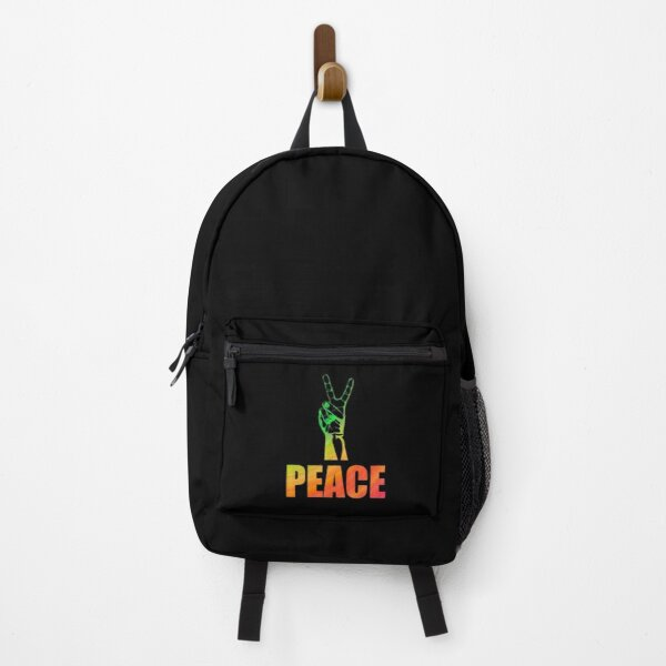 Rainbow Peace Backpack