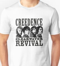 Camiseta ajustada Creedence clearwater revival