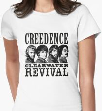 Creedence clearwater revival Women's Fitted T-Shirt
